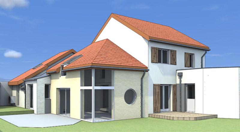 Extension de maison 01