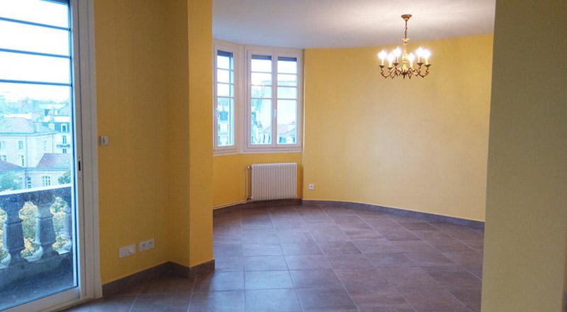 Rénovation d'un joli appartement - Dijon Centre