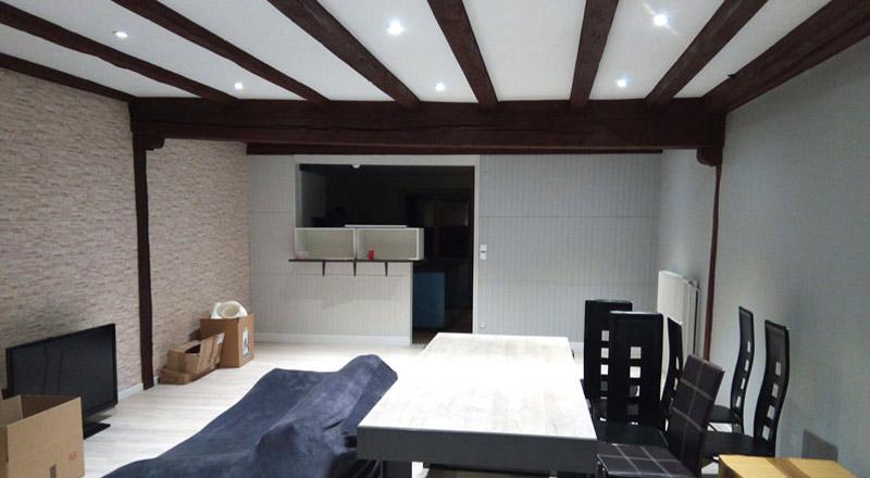 Rénovation d'une maison, coup de jeune à Champdôtre